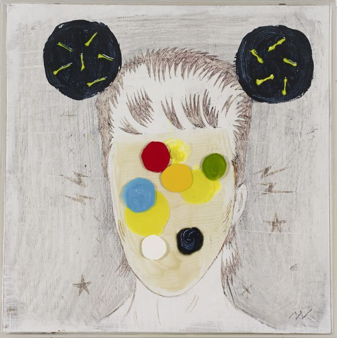 Bowie 1,  32 x 32 cm