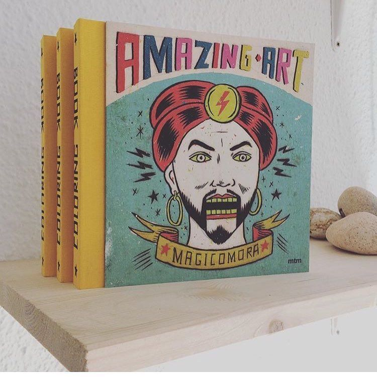 AMAZING ART- COLORING BOOK