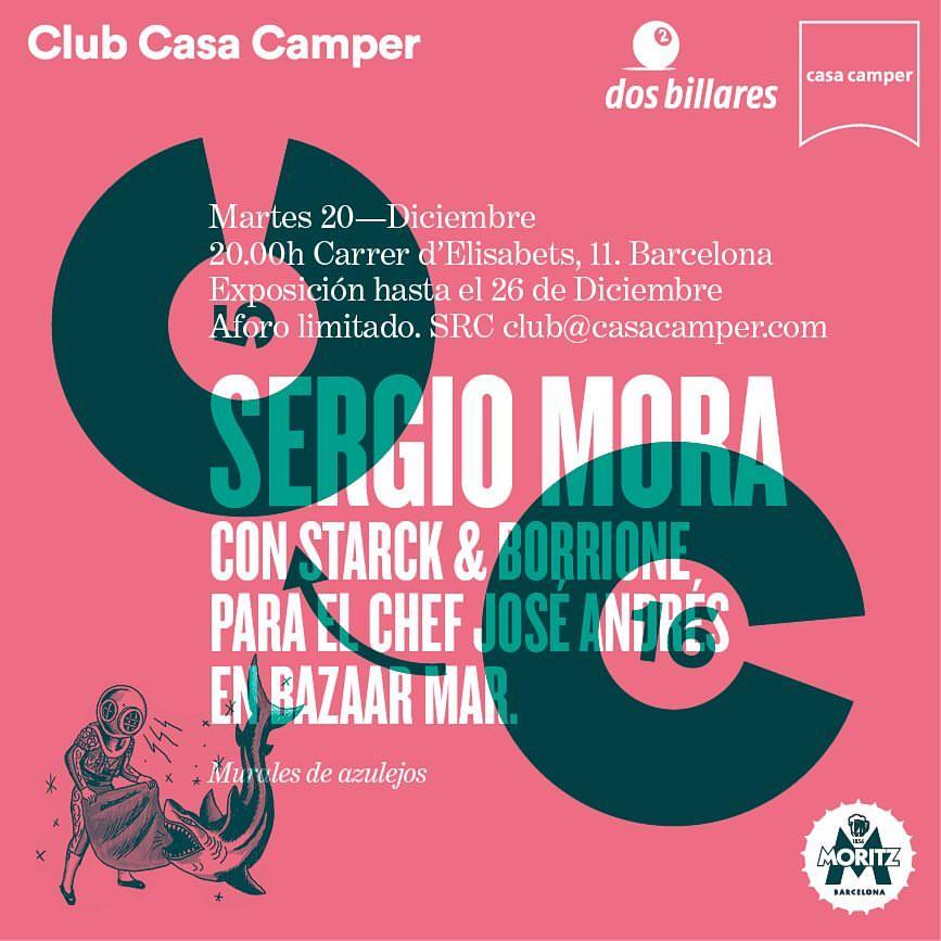 Exposición en Club Casa Camper