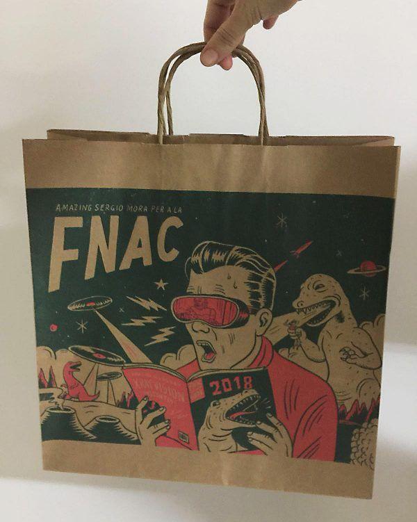 News Bags design for FNAC