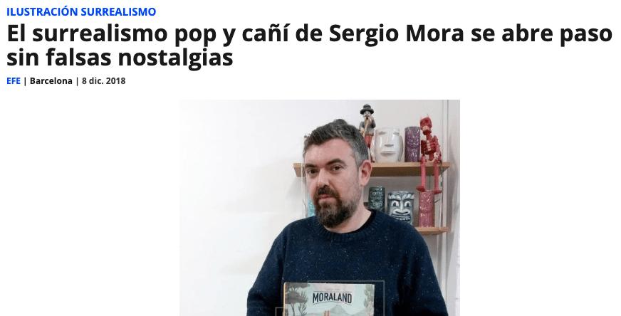 El surrealismo pop y cañí de Sergio Mora se abre paso sin falsas nostalgias