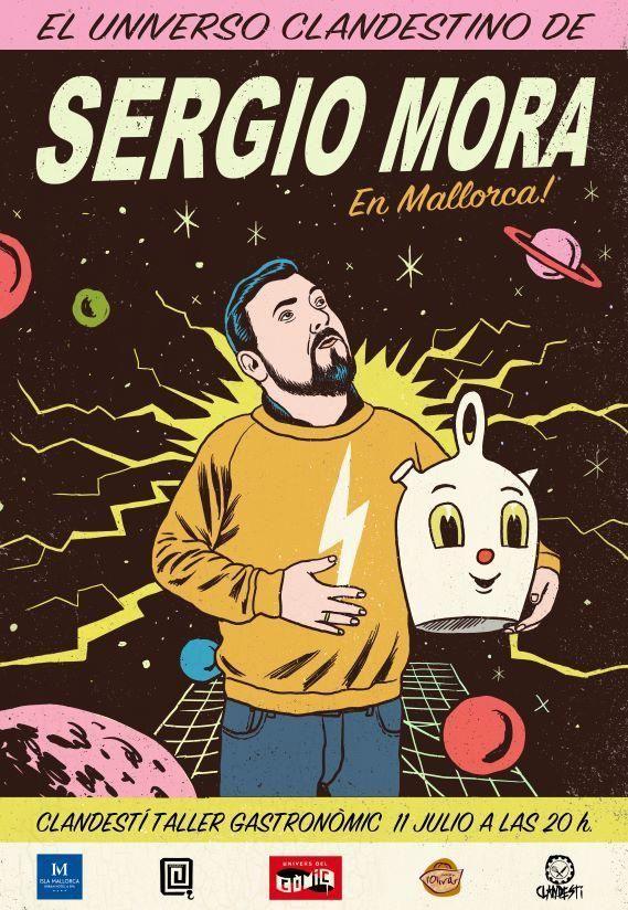 EL UNIVERSO CLANDESTINO SERGIO MORA