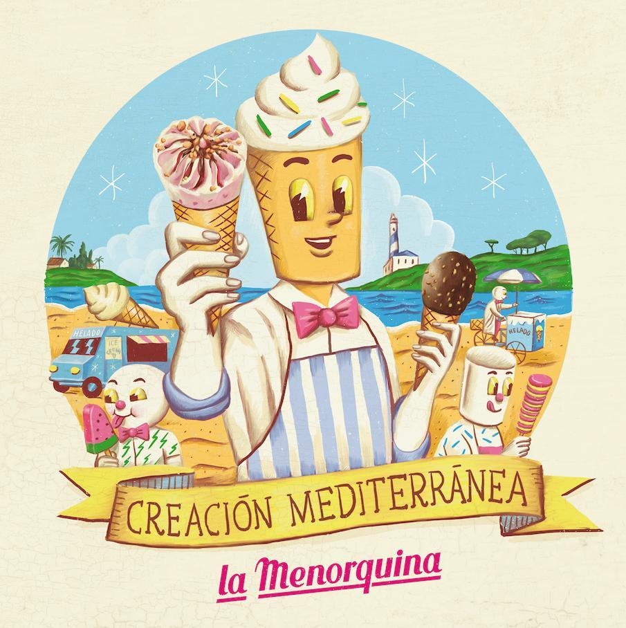 """Ilustración para """"La Menorquina"""""""