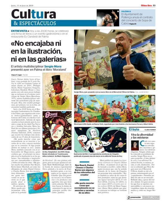 """""""Diario Ultima Hora"""" (Mallorca)"""