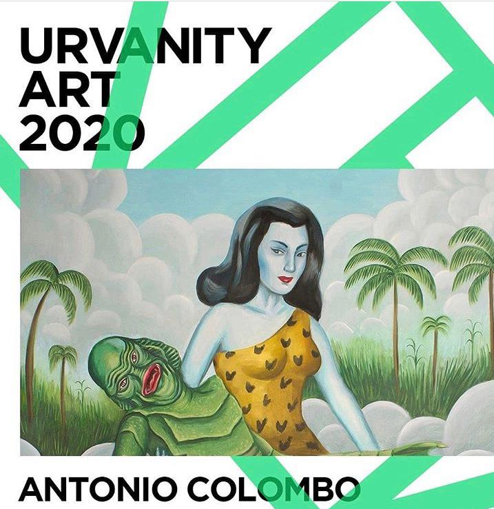 New show coming soon at @urvanityart New Contemporary Art Fair whit @antoniocolombogallery Stay tuned!