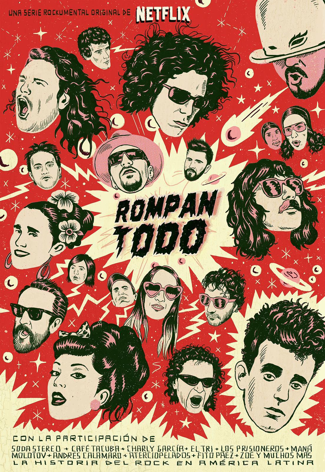 """""""ROMPAN TODO"""" La historia del Rock en América latina."""