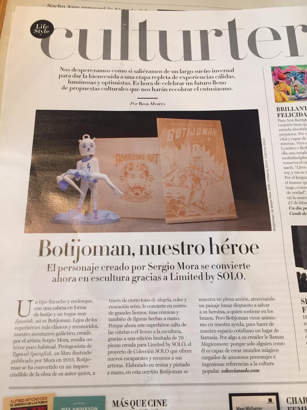 """""""Botijoman en El País"""""""